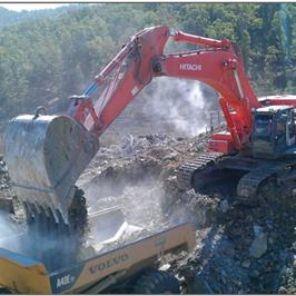 Unimin Guion Overburden Removal